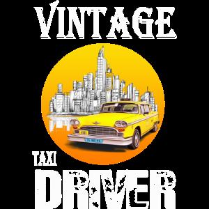 VINTAGE TAXI DRIVER
