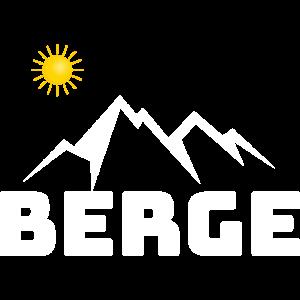 Berge Bergliebe Wandern Geschenk