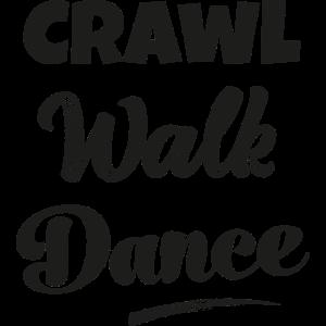 Krabbeln gehen tanzen Nachwuchs Tänzer Tänzerin