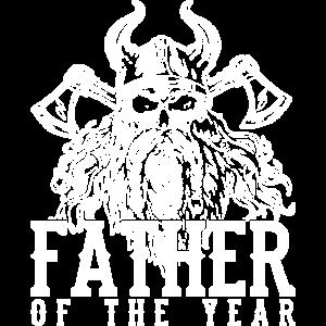 Vater des Jahres Wikinger Vatertagsgeschenk