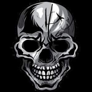 Tod Kopf gruss skull halloween Zeichnung