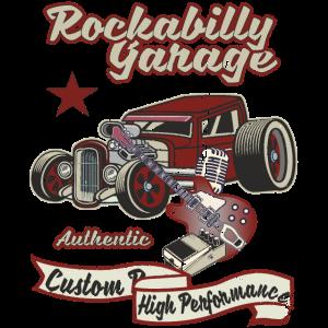 Authentic Rockabilly Hot-Rod Racer TShirt Original