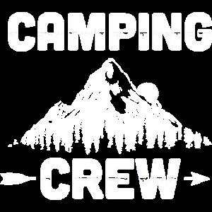 Camping Crew | Camper Zelten Wandern Geschenkideen