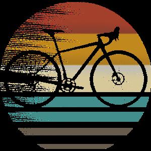 Gravelbike Gravel Rennrad Fahrrad Geschenk retro