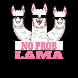 No Problama, Lustiges Alpaca Lama Kein Problama