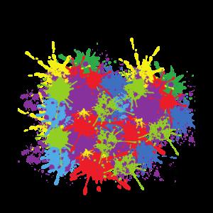 Art Colour Splash Colourful Colour Abstract Form