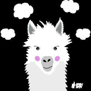 Freches Lama