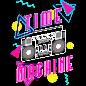 Time machine boombox 80´s