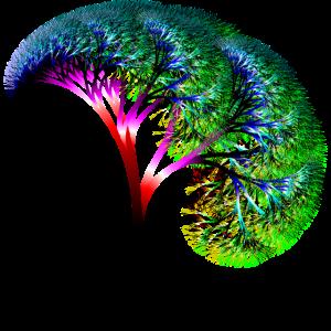 Fraktal #82 fraktaler Baum