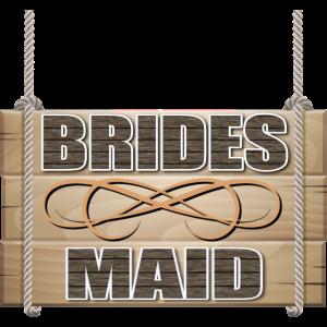 Rustikale Hochzeitsfeier der Brautjungfer