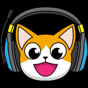 Gaming Cat. Video Game. Gamer. Katze mit Headset