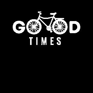 Gute Zeiten Fahrrad Radfahrer Radliebhaber