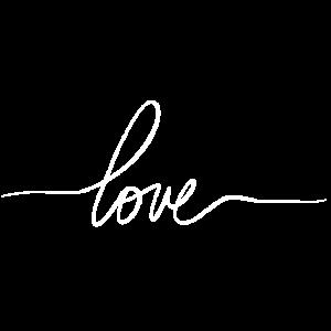 love handwritten - schön, stylisch