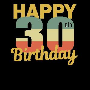 30 Jahre zum 30 Geburtstag Geschenk