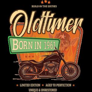 Oldtimer Motorrad geboren 1961 Geburtstag Geschenk