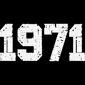 Legendär seit 1971 Geburtsjahr 50 Jahre