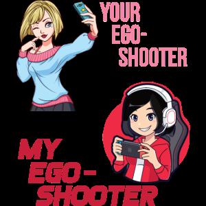Dein Ego Shooter vs Mein Ego Shooter | Gamer Girl