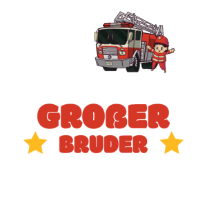 Ich Werde Großer Bruder 2021 Feuerwehrauto Jungen