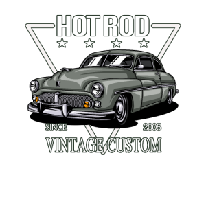 Vintage Custom HOT ROD Car