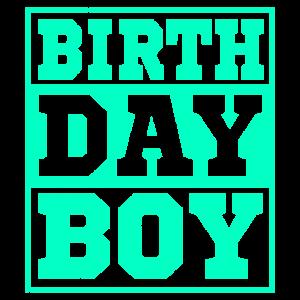 BIRTHDAY BOY Geburtstag Junge Geschenk