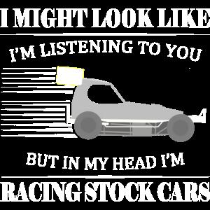 Ich könnte aussehen, wie... aber ich fahre Stock Cars