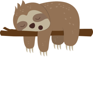 Faultier offizielles Schlafshirt