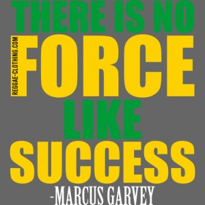 THERE IS NO FORCE LIKE SUCCESS - Marcus Garvey