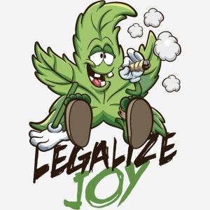 Blatt legalisieren Freude