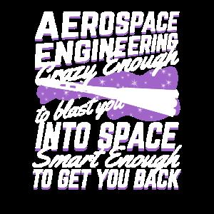 Lustiges Raumfahrtingenieur Geschenk