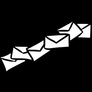 Briefe Nachrichten Sendung message letters