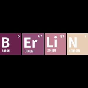 Berlin Periodensystem Bunt