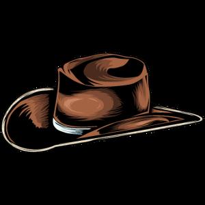 Cowboy Hut Zeichnung
