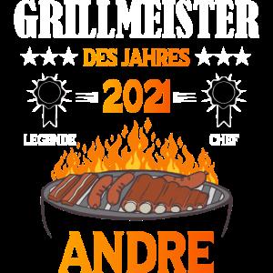 Grillmeister Andre die Legende und Cheff am grill