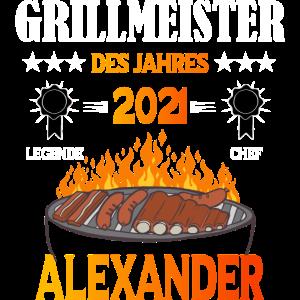 Grillmeister Alexander des Jahres 2021 grillen bbq