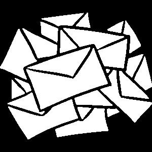 Briefe Nachrichten Post Posteingang message mail