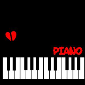 Essen Sie Schlaf spielen Klavier