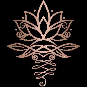 Feminin Lotus Lotusblume Yoga