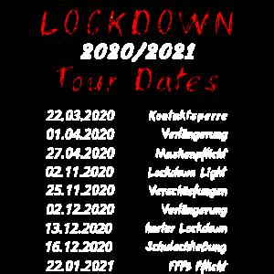 Corona Tour Lockdown Spritze