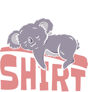 Sleep Shirt Koala Schlafen Schlafanzug Faul