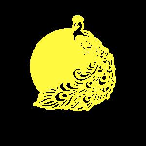 Künstlerisch schöne Pfau Geschenk künstlerische Vogel