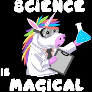 Wissenschaft ist magisches Einhorn