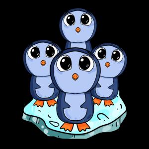 Niedliche Pinguine