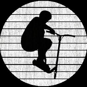 Trickscooter Design für Stunt Scooter Fans