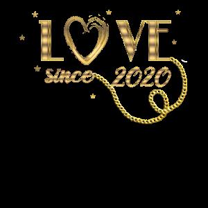 Valentinstag Jahrestag Liebe seit 2020
