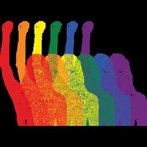 Internationaler Frauentag LGBTQ Girlpower Geschenk