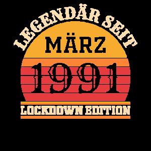 Geburtstag März 30. Jahrgang 1991