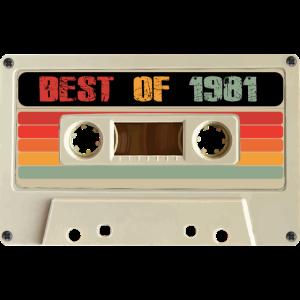 Best of 1981 - Music Tape Birthday Idea