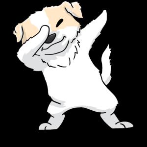 Pyrenäen-Sennenhund Dabbing Kawaii