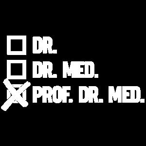 Dr - dr. med - Prof. Dr. Med - Professor Mediziner