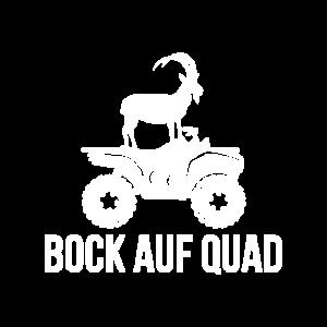 Bock auf Quad fahren Quadfahrer ATV Steinbock